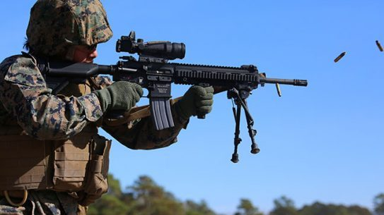 Female Marines Ground Combat Integrated Task Force