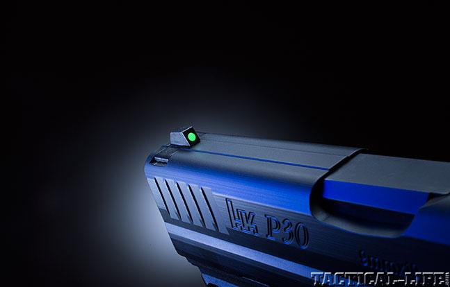 Heckler & Koch P30 GWLE 2014 sight