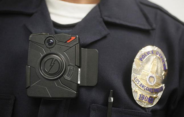 LAPD body cameras TASER International San Francisco