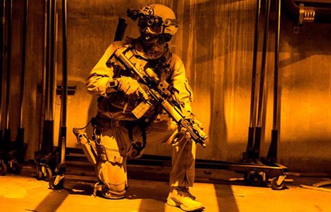 15th MEU Marines Dodger Stadium training