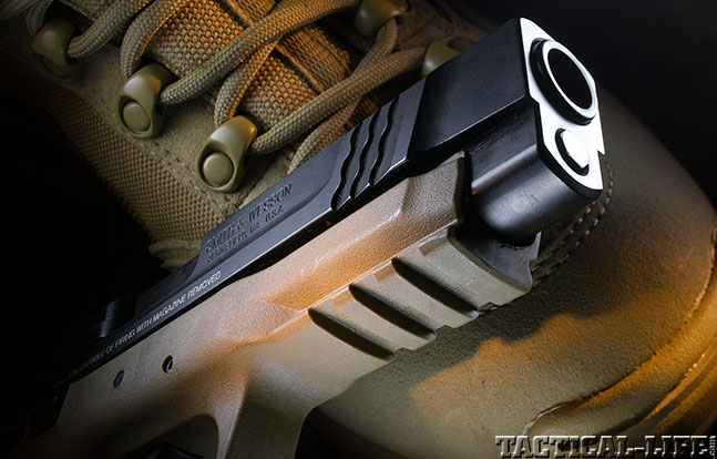 Smith & Wesson M&P45 GWLE 2014 rail