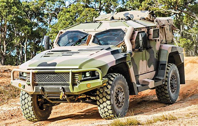 Tactical Trucks SWMP Jan 2015 Australia Hawkei
