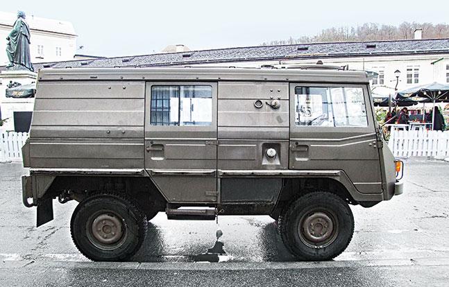 Tactical Trucks SWMP Jan 2015 Austria Pinzgauer 2