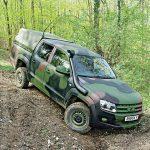 Tactical Trucks SWMP Jan 2015 Germany VW/Rheinmetall Amarok M