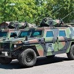 Tactical Trucks SWMP Jan 2015 Switzerland MOWAG Eagle V