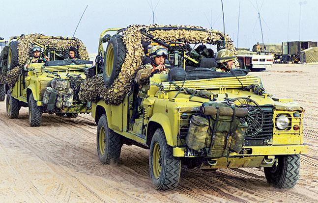 United Kingdom: Land Rover Defender