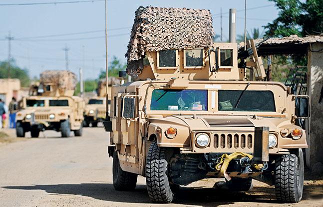 Tactical Trucks SWMP Jan 2015 United States HMMWV