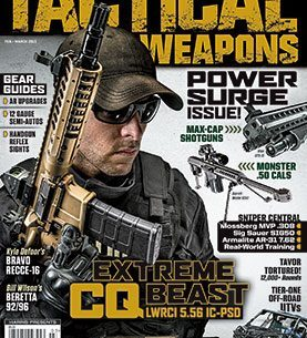 Tactical Weapons February/March 2015 cover