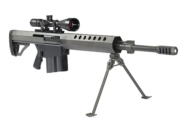 Top 12 .50 BMG Rifles TW March 2015 Serbu Firearms BFG-50A