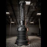 UDR Dominator vertical grate flashlight