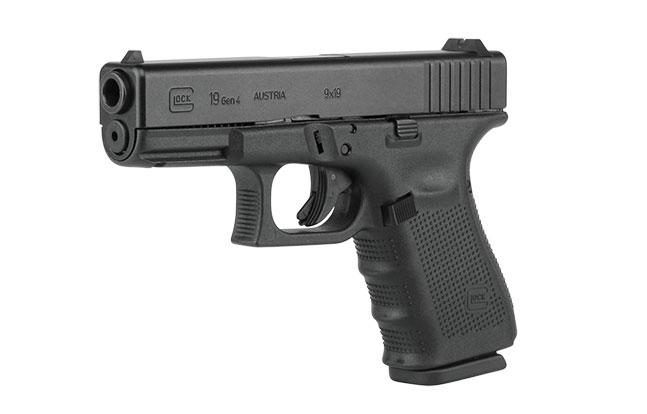 11 Top Striker-Fired Pistols law enforcement Glock 19 Gen4