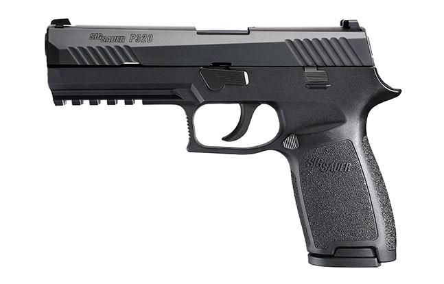 11 Top Striker-Fired Pistols law enforcement Sig Sauer P320