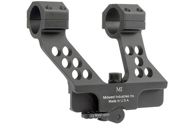 14 Rails Mounts Handguards AK platform Midwest Industries AK 30mm Scope Side Mount