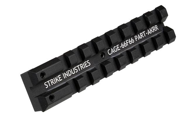 14 Rails Mounts Handguards AK platform Strike Industries AK Rear Sight Red Dot Rail