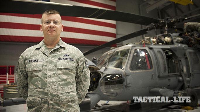 Air Force Tech. Sgt. Justin Mahana