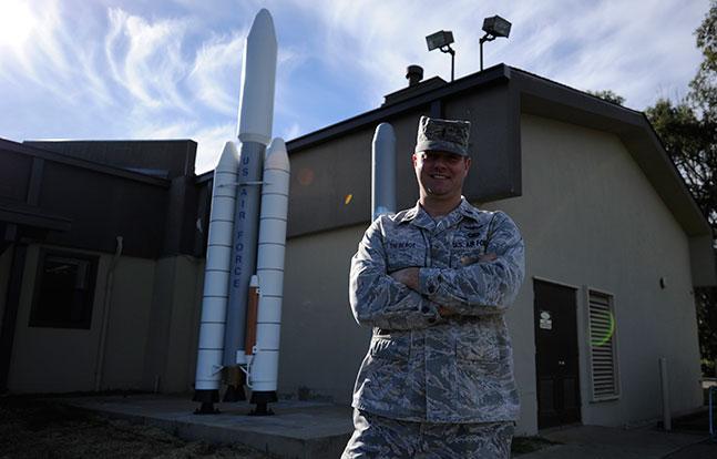 Air Force Lieutenant Tyler Theberge
