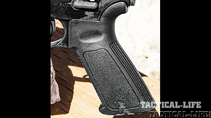 Ruger AR-556 SWMP April/May 2015 grip