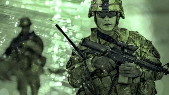 U.S. Army sensors research battlefield use