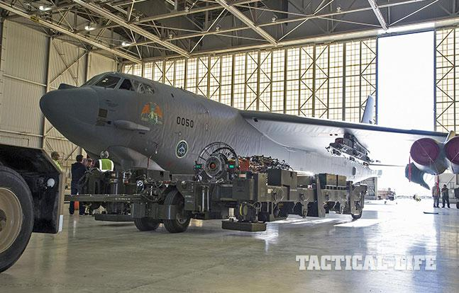B-52H Smart Weapons Bomb Bay