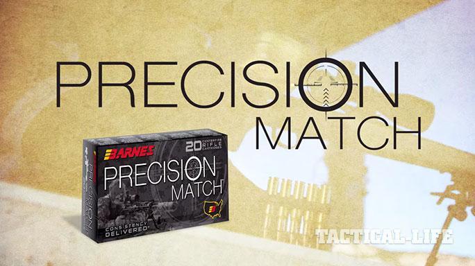 Barnes Bullets Precision Match Ammo