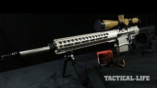DRD Tactical KIVAARI Semi-Automatic rifle .338 Lapua Magnum lead