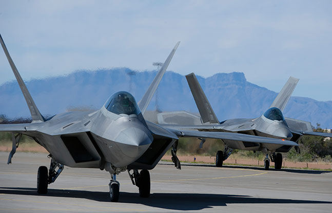 F-22 Raptor repairs Lockheed Martin