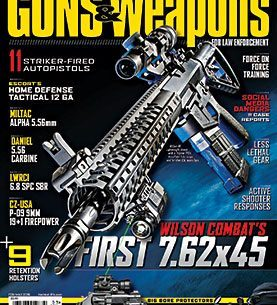 GUNS & WEAPONS FOR LAW ENFORCEMENT FEBRUARY/MARCH 2015 magazine cover