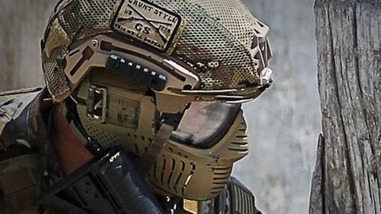 Paintball helmet military