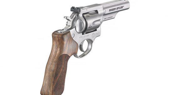 Ruger GP100 Match Champion Handgun Adjustable Rear Sight angle