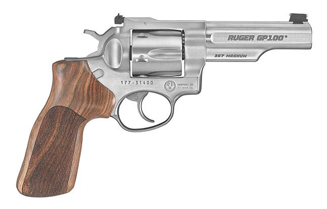 Ruger GP100 Match Champion Handgun Adjustable Rear Sight lead