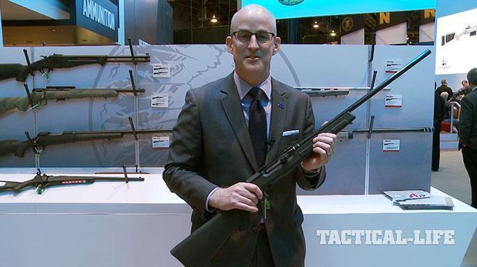 Savage Arms A17 .17 HMR SHOT Show 2015
