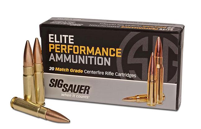 Sig Sauer 300 Blackout Elite Performance Ammunition Match Grade Centerfire Cartridges