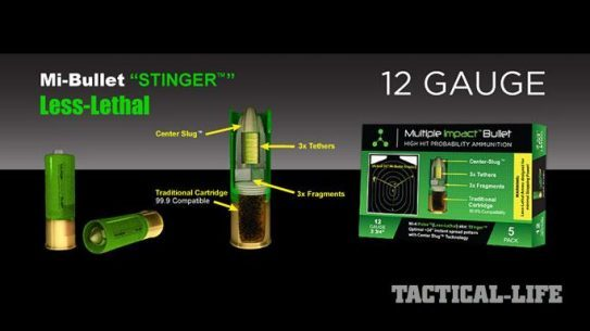 Stinger Less-Lethal Multiple Impact Bullet