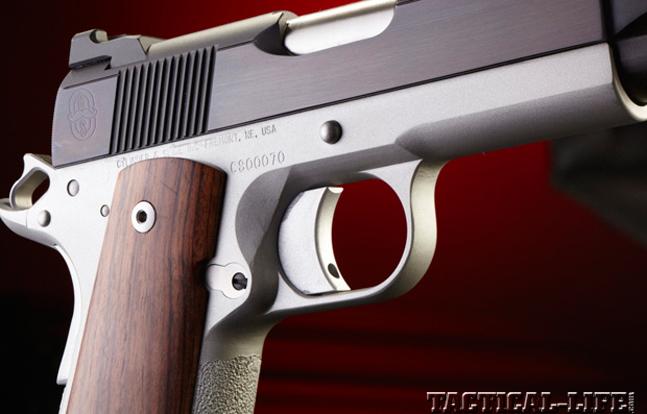 Top 18 Full-Size Guns 2014 CYLINDER & SLIDE SUPER LITE .45 ACP trigger