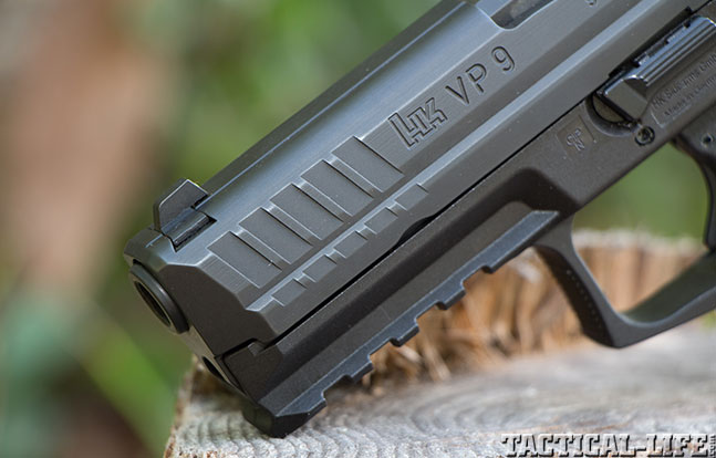 Top 18 Full-Size Guns 2014 HECKLER & KOCH VP9 front