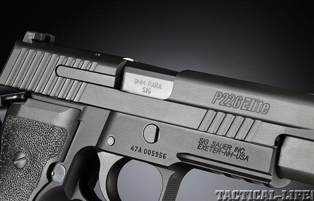 Top 18 Full-Size Guns 2014 SIG SAUER P226 ELITE SAO port