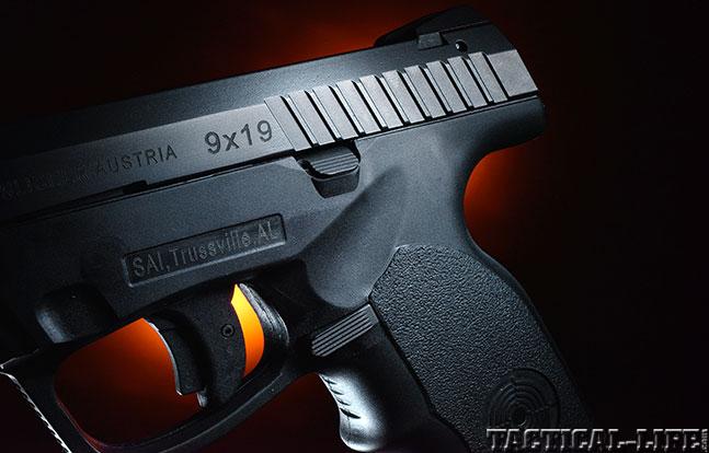 Top 18 Full-Size Guns 2014 STEYR ARMS L9-A1 slide