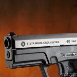 Top 18 Full-Size Guns 2014 STEYR ARMS M40-A1 .40 S&W slide