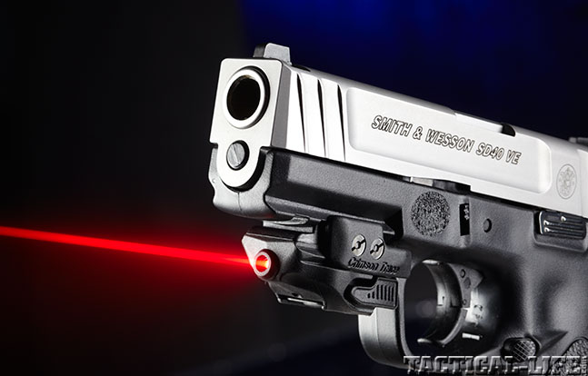 Top 18 Full-Size Guns 2014 SMITH & WESSON SD40 VE muzzle