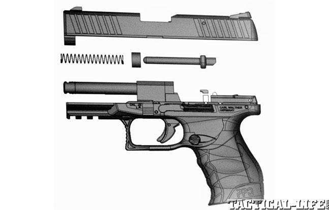 Top 18 Full-Size Guns 2014 WALTHER PPQ M2 .22 internals