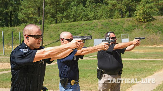 Bryant Police Department Arkansas Glock 21 aim