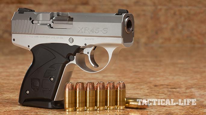 Compact Backup Handguns 2015 Boberg XR-45S