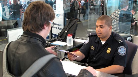 US Customs and Border Protection body camera study