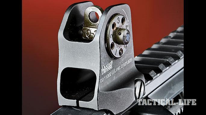 Daniel Defense DDM4V9LW rear sight