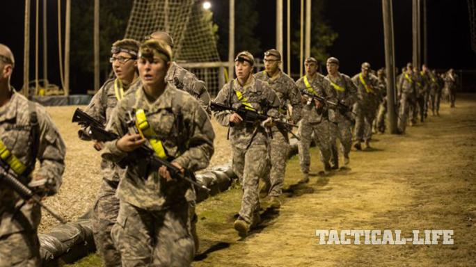 female soldier second Ranger Training Assessment Course