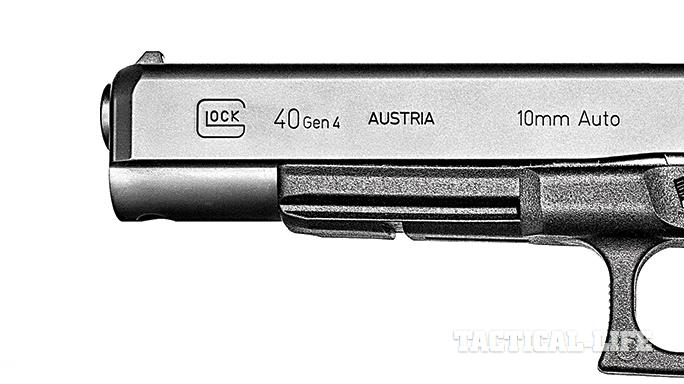 Glock G40 Gen4 MOS Modular Optic System barrel