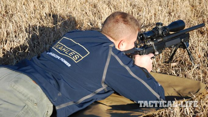 Kahles K624i Rifle Scope field