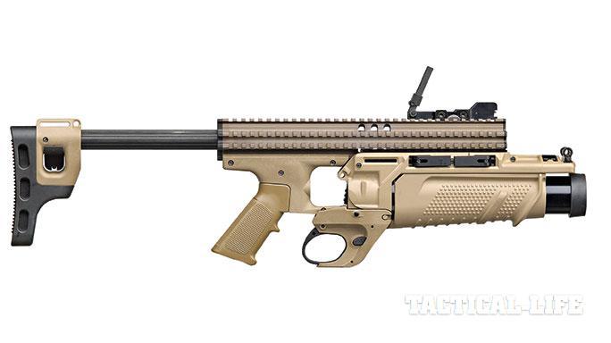 Mk 13 EGLM Grenade Launchers SWMP April/May 2015