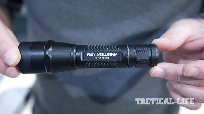 Law Enforcement products SureFire P2X Fury with Intellibeam Technology