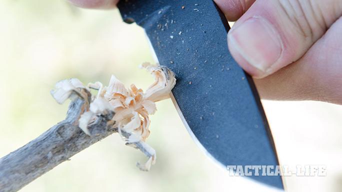 TOPS Knives Overlander 2 use